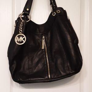 Gorgeous black soft leather Michael Kors bag